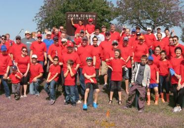 Total partners with trash bash®, making texas' galveston bay watershed cleaner and safer