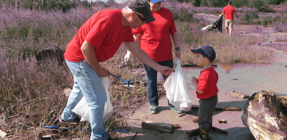 Involving our children is a great way to teach them about the importance of environmental stewardship.